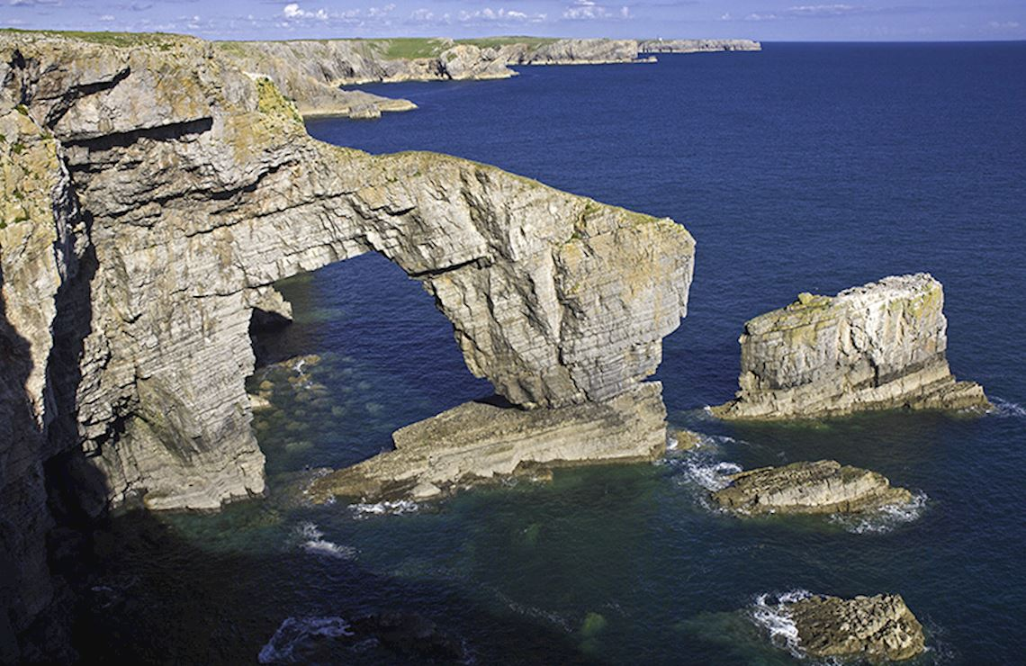Green Bridge of Wales, Pembrokeshire