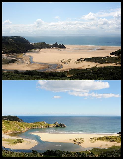 Three Cliffs Bay, The Gower