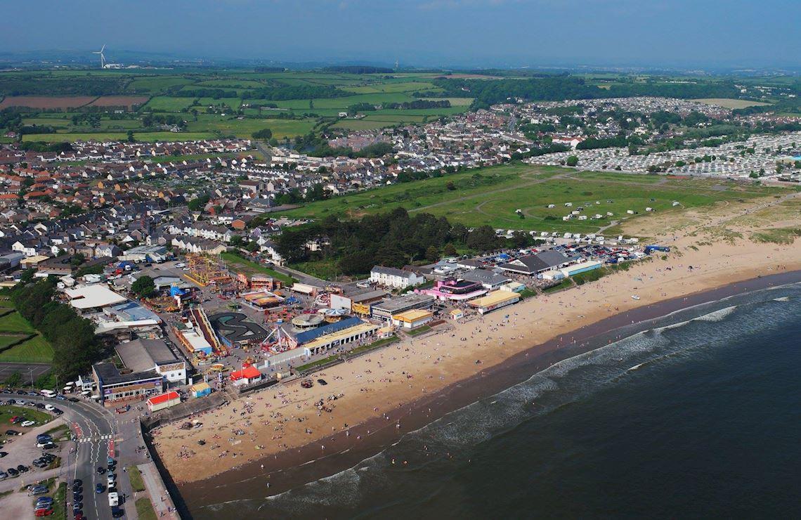 Parc Hwyl Conwy Beach