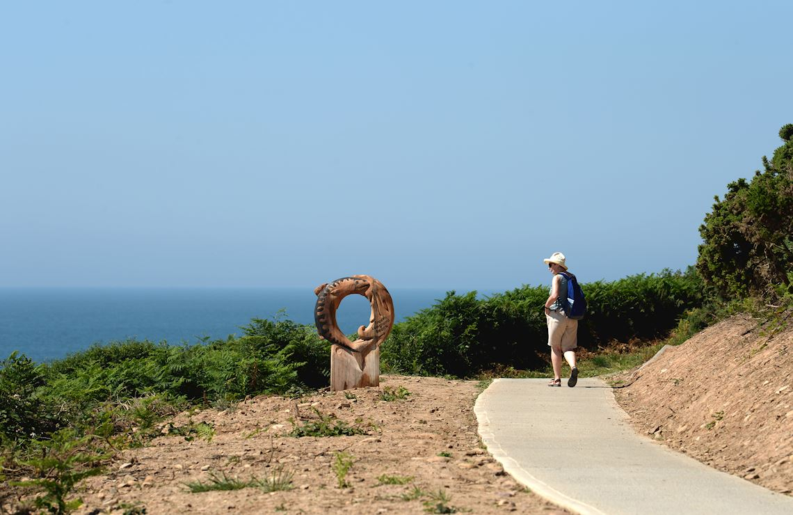 Sculpture by the coast